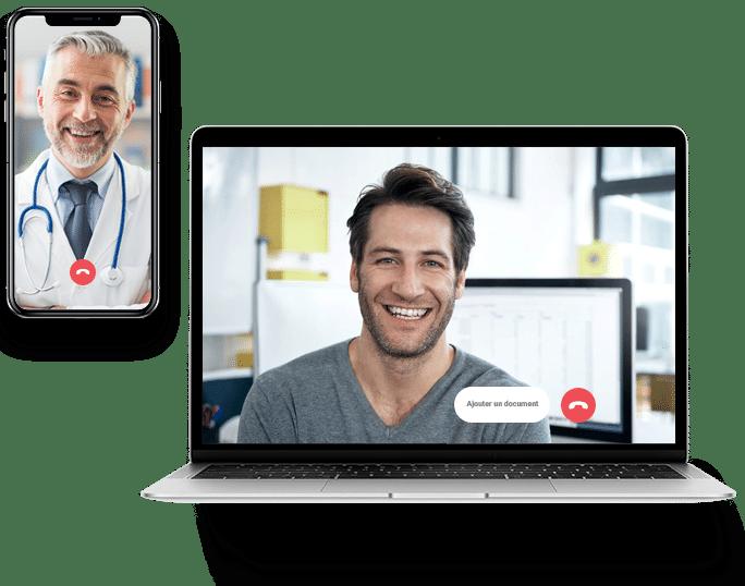 Téléconsultation avec vos patients
