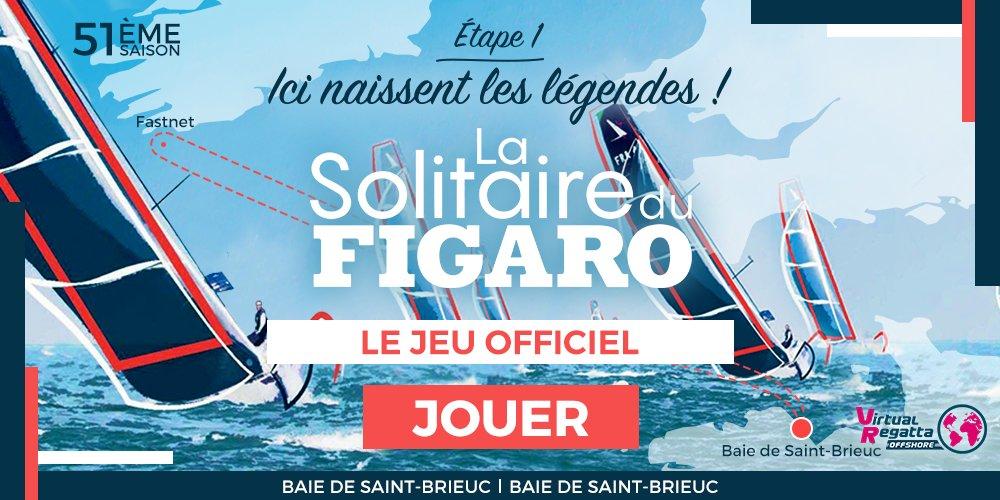 Image de couverture de: Medaviz Partenaire Officiel de La Solitaire du Figaro : Virtual Regatta, départ de La Solitaire du Figaro !