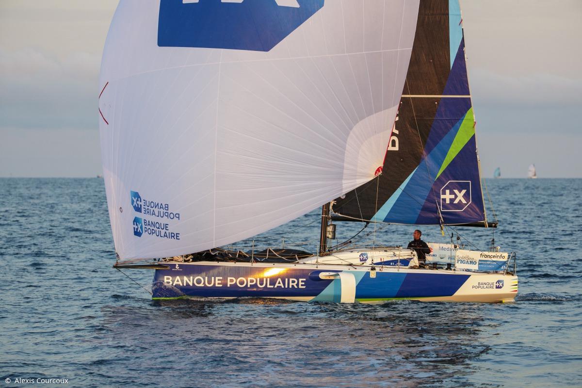 Image de couverture de: Medaviz Partenaire Officiel de La Solitaire du Figaro : départ de la 2e étape