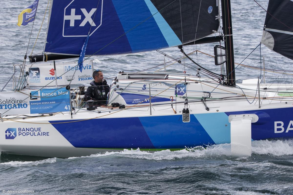 Image de couverture de: Medaviz Partenaire Officiel de La Solitaire du Figaro : Briefing Skippers pour la 3e étape