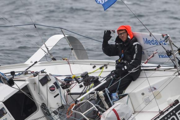 Image de couverture de: Medaviz Partenaire Officiel de La Solitaire du Figaro : arrivée de la première étape