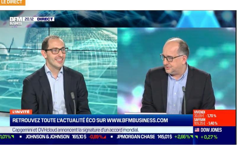 Image de couverture de: Guillaume Lesdos, Co-fondateur de Medaviz interviewé sur BFMBusiness
