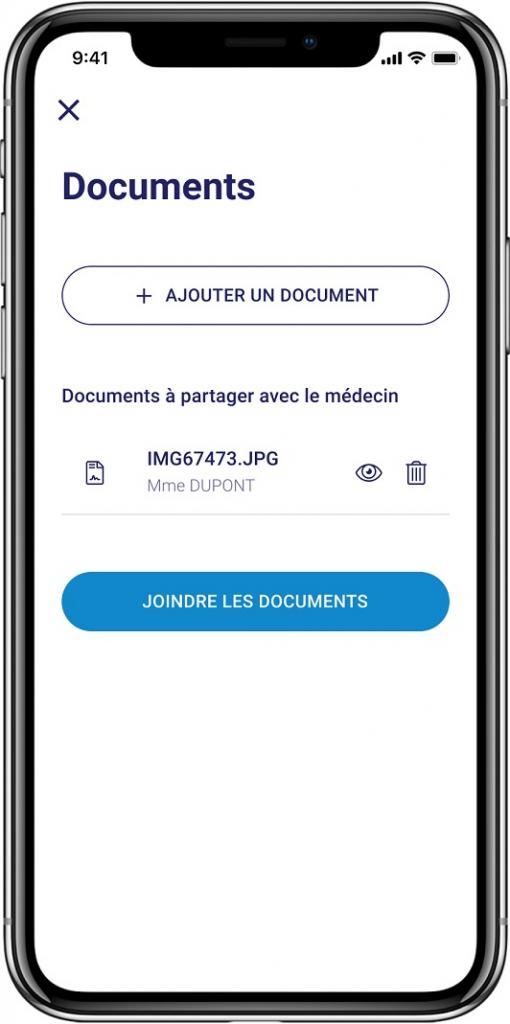 Comment partager des documents avec mon médecin ?