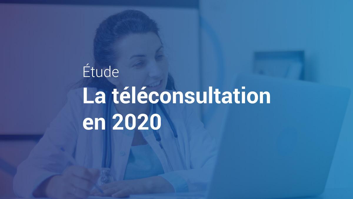 Image de couverture de: La téléconsultation en 2020, une étude Medaviz