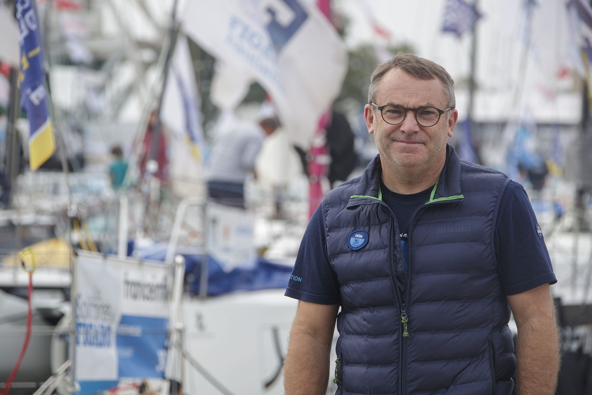 Image de couverture de: 6 questions à : Francis Le Goff, Directeur de course de La Solitaire du Figaro