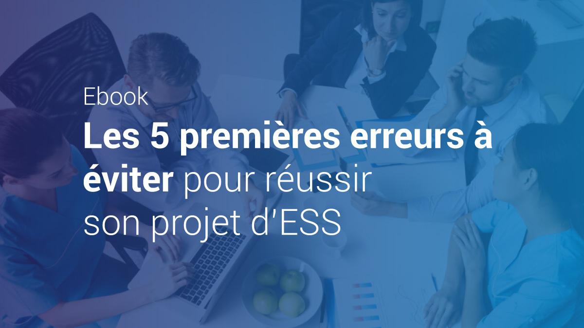 Image de couverture de: Guide pratique - Les 5 premières erreurs à éviter pour réussir son projet d'ESS
