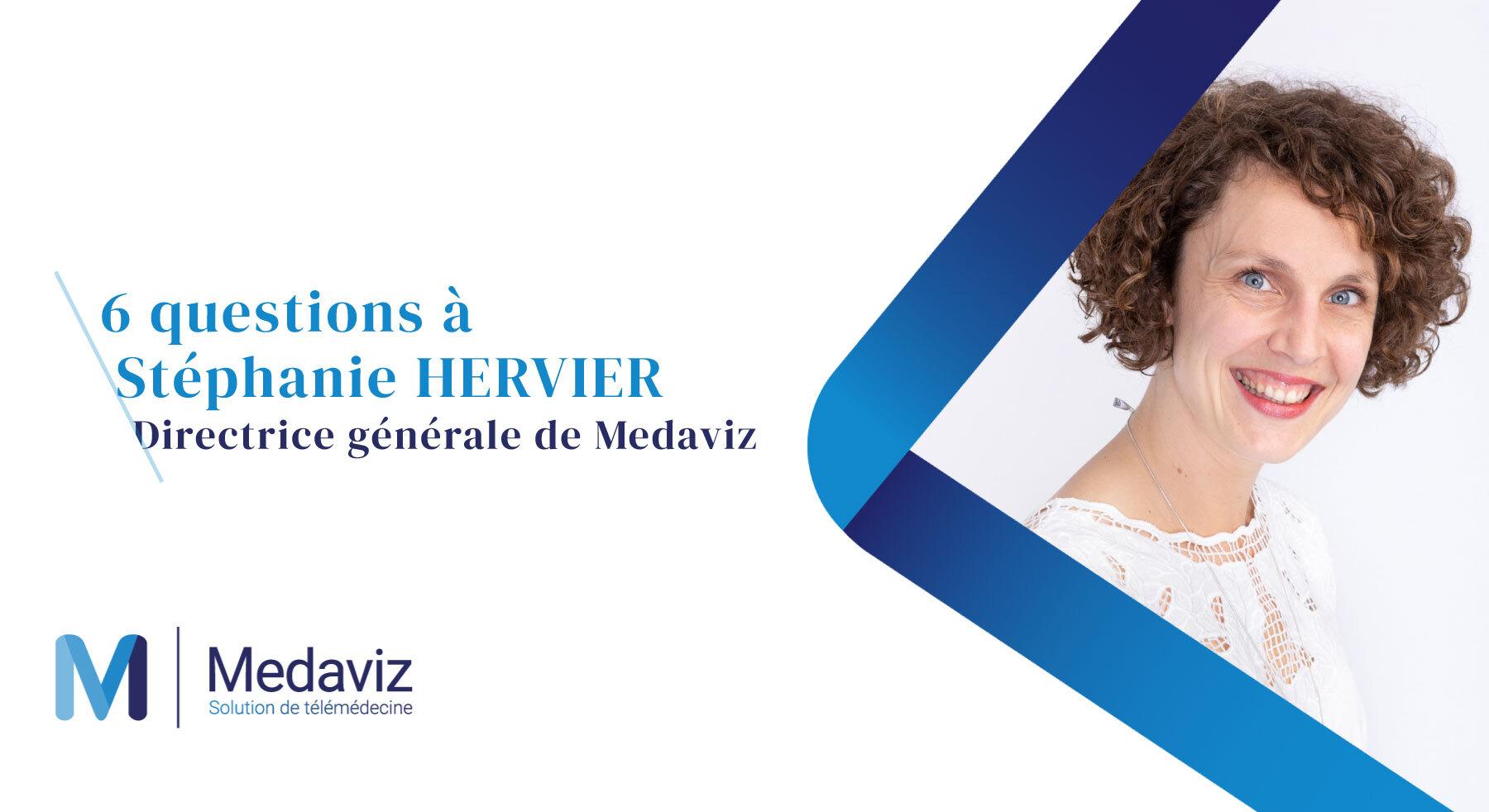 Image de couverture de: Medaviz : 6 questions à Stéphanie Hervier